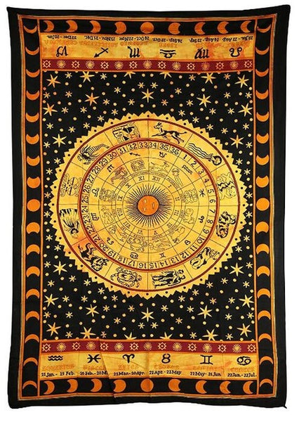 Large Bright Colorful Indian Mandala Tapestry - 3 Styles - Hippie Chic Wall Decor 200x148cm - I Found it On Sale!