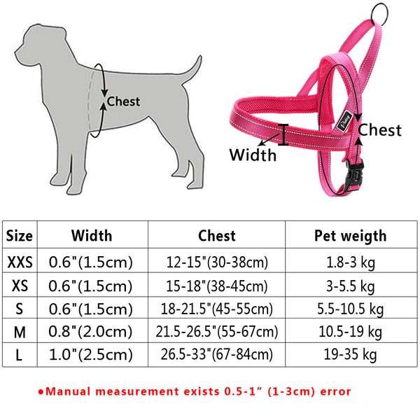 No Pull Reflective Dog Harness and Pet Vest Lead For Small Medium and Large Dogs - I Found it On Sale!