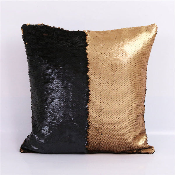 Magic Color Changing Reversible Sequin Cushion Throw Pillow Cover - 25 Styles - I Found it On Sale!