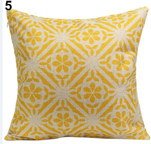 Vintage Geometric Cotton Linen Throw Pillow Cover - I Found it On Sale!