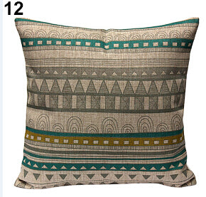 Throw Pillow Covers - Vintage Geometric - 10 Choices - I Found it On Sale!