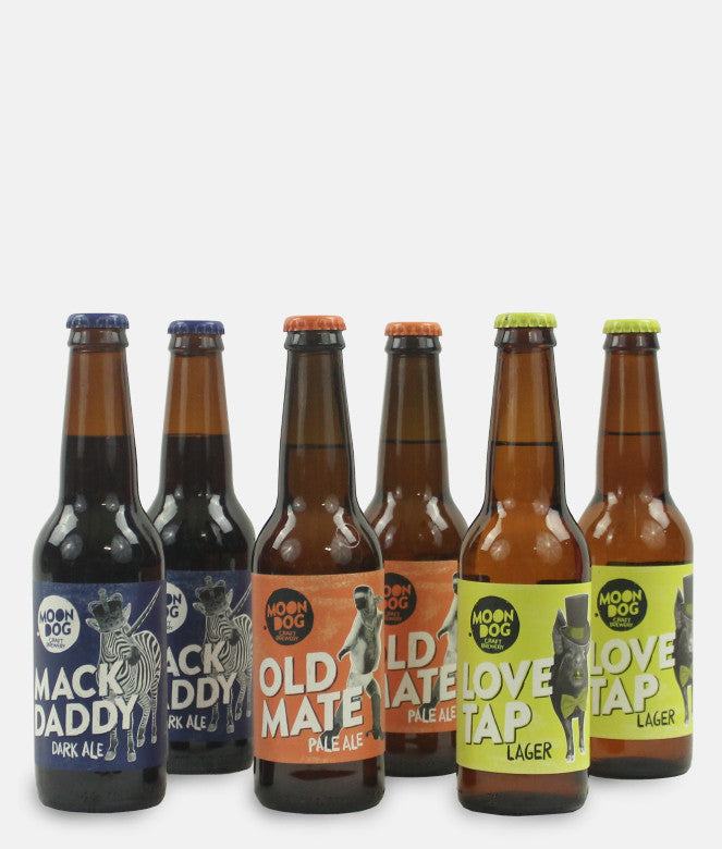 MOON DOG CRAFTY 6 PACK - WITH FREE SHIPPING