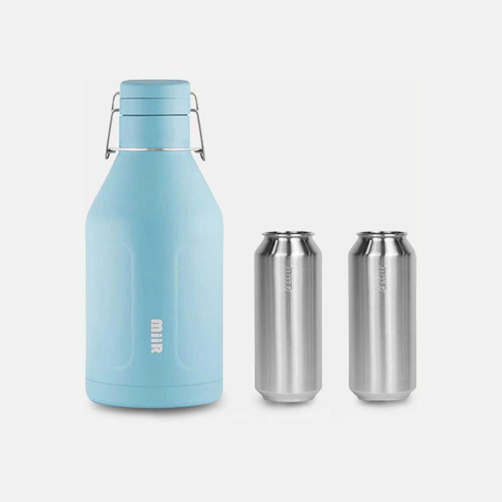 INSULATED GROWLER + 2 TALL BOY PINTS