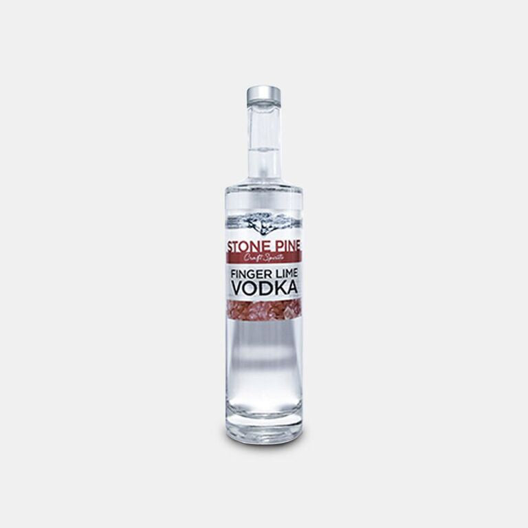 Finger lime vodka
