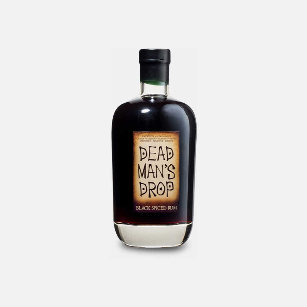 Dead Mans Drop Black Spiced Rum