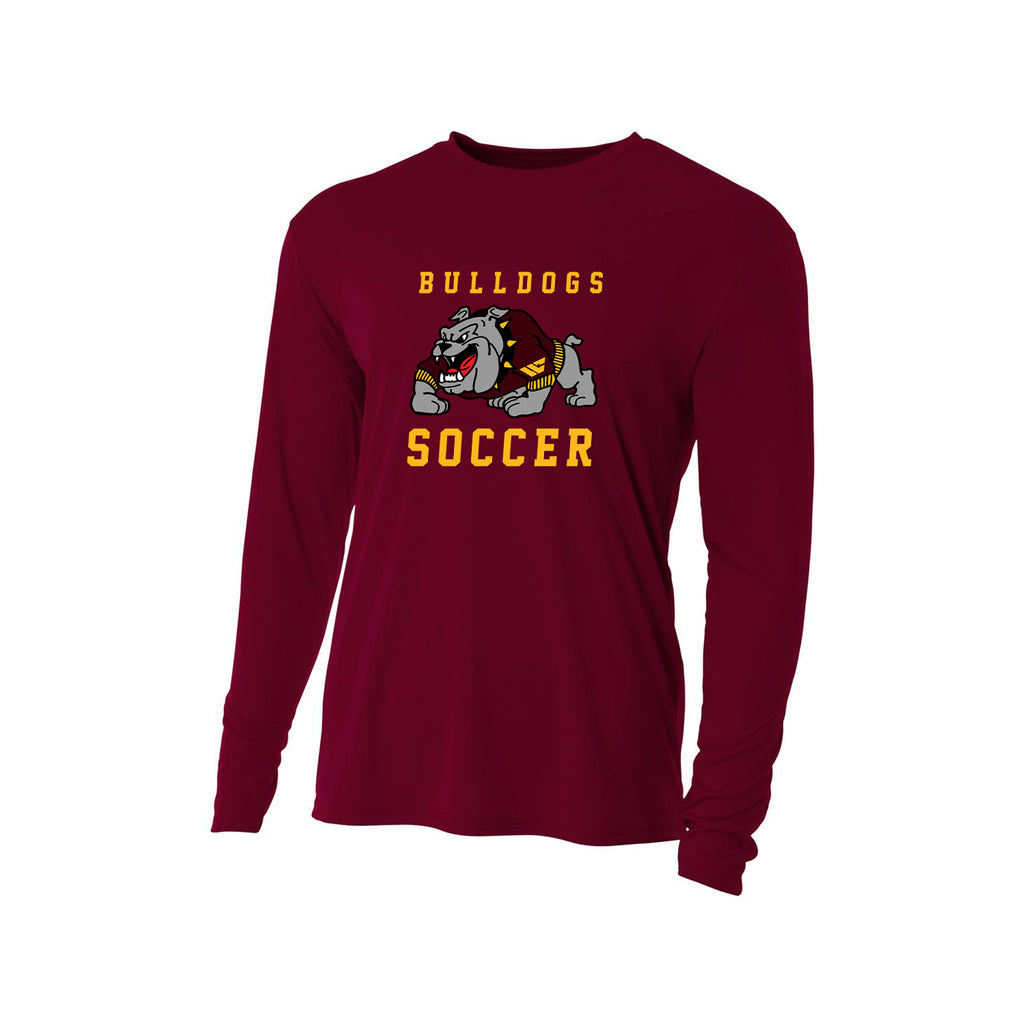 West Covina Bulldogs - Cotton Men's L/S Tee