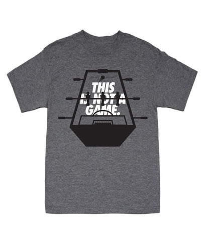 Roll The Clip Grey Tee