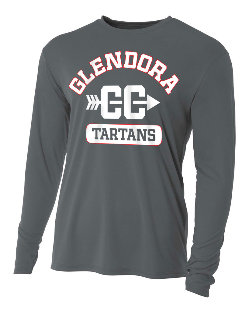 Glendora Cross Country - Grey Long Sleeve T-Shirt