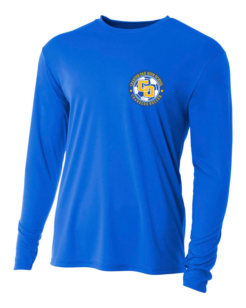Charter Oak Chargers - Mens L/S Training Tee