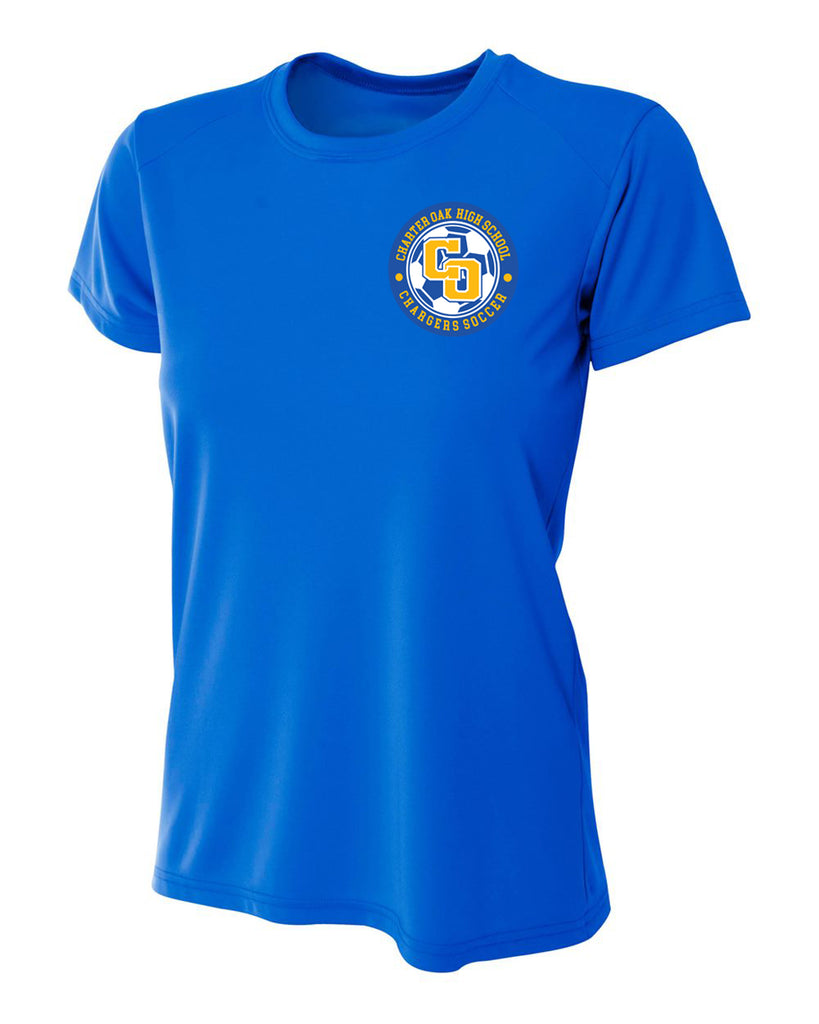 Charter Oak Chargers - Womens Training Tee