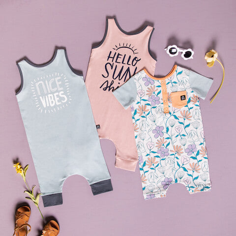 Rags Kids Spring & Summer Rompers