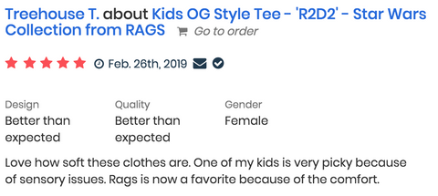 RAGS Kids Romper Review - Treehouse T.