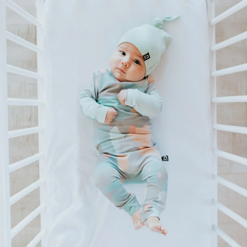 Cute Newborn Romper - Color Swatches - Painterly Romper