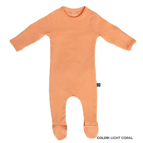 Newborn Romper - Light Coral Color