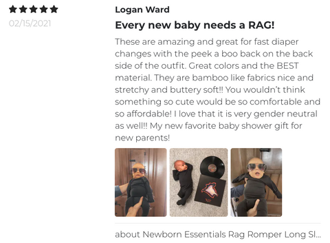 Customer Romper Review
