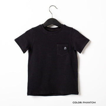 Short Sleeve Chest Pocket Kids Essentials Tee  - 'Kids Tee in Multiple Colors'
