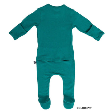 Newborn Essentials Rag Romper Long Sleeve - 'Newborn Rag in Multiple Colors' - Spring
