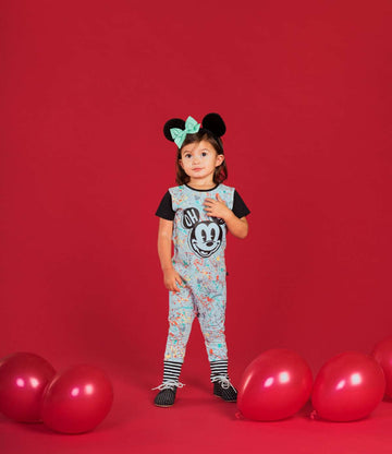 Short Sleeve Rag - 'Mickey Mouse Paint Splatter' - Disney Collection from RAGS