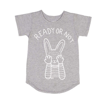 Tee Shirt  - 'Ready or Not!'