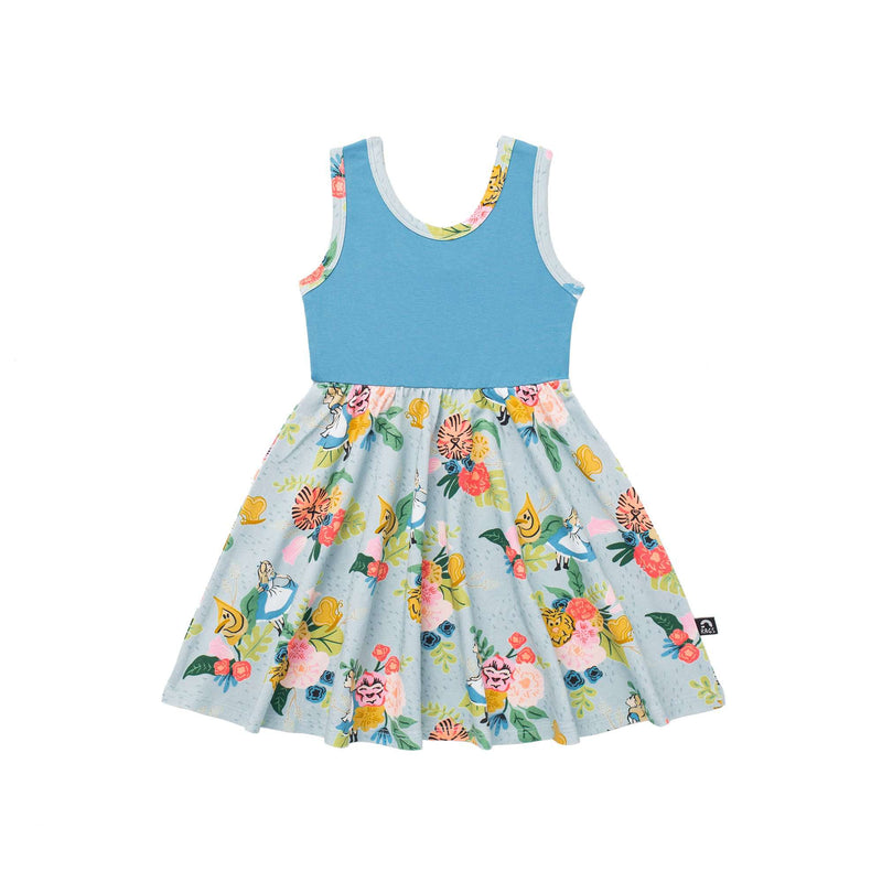 Tank Swing Dress - 'Alice in the Flowers' - Disney Collection from RAGS