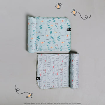 Baby Swaddle - 'Winnie the Pooh Stripe' - Disney Collection from RAGS