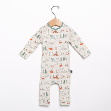 Newborn Rag Romper (Footless) - ' Winnie the Pooh Stripe' - Disney Collection from RAGS