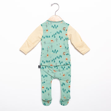Newborn Rag Romper - 'Winnie the Pooh Woodland' - Disney Collection from RAGS