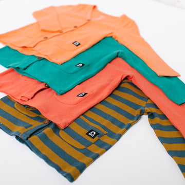 Kids Essentials Cardigan - 'Kids Cardigan in Multiple Colors' - Spring