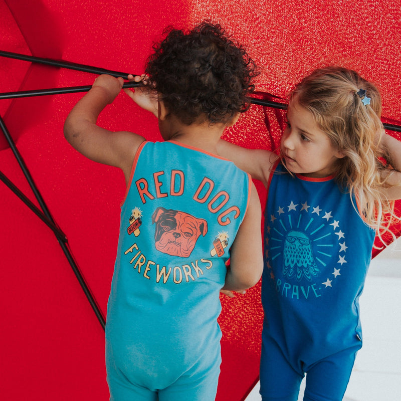 Fireworks and 4th of July kid & baby clothes & rompers