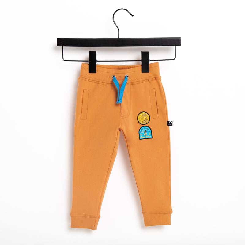 Kids Welt Pocket Joggers - 'Mickey Patches' - Pheasant - Disney Collection from RAGS