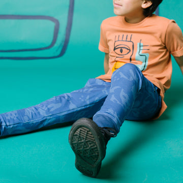 Kids Welt Pocket Joggers - 'Captains Blue'