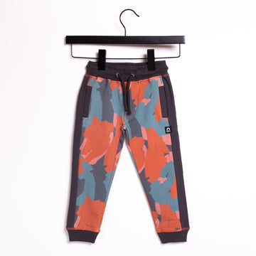 Kids Welt Pocket Joggers with Side Panel - 'Painterly Swatches'