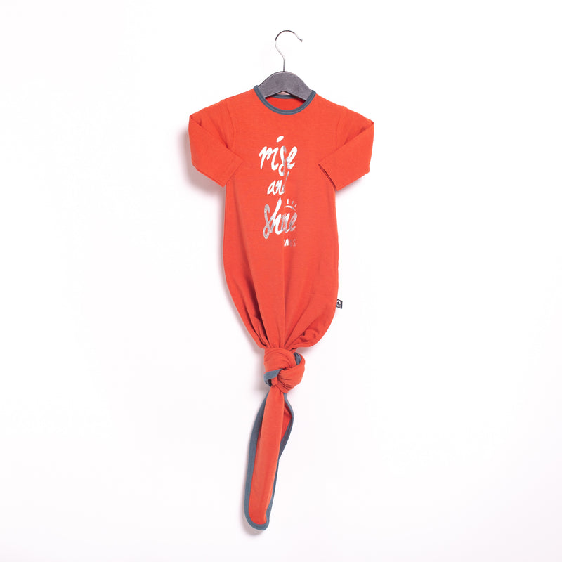 Baby Pouch - '$27 at Checkout' - 'Rise & Shine' - Ginger Spice