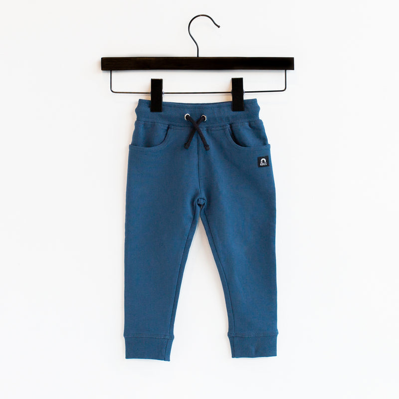 Kids Essentials Joggers - 'Ensign Blue'