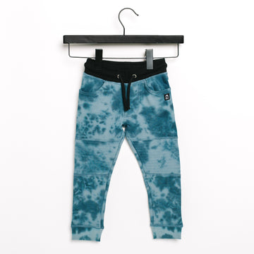 Kids Moto Joggers - 'Tie Dye' - Deep Jungle