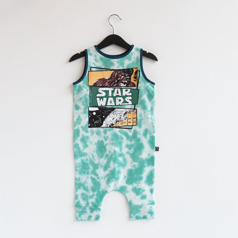 Tank Capri Rag Romper - 'Chewbacca Comic Strip' - Star Wars Collection from RAGS