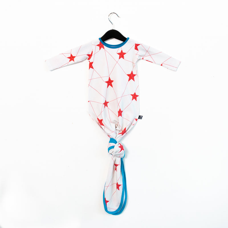 Baby Pouch - 'Stars' - Marshmallow