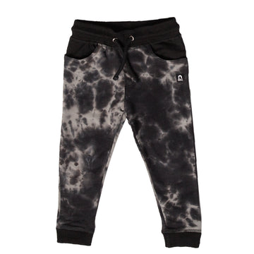 Kids Joggers - 'Tie Dye' - India Ink