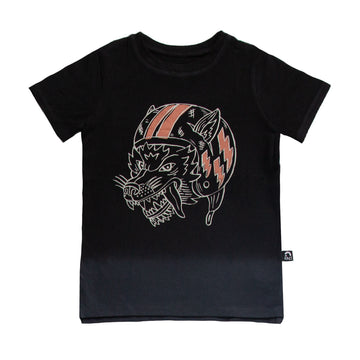 Short Sleeve Tee - 'Flying Wolf' - Periscope