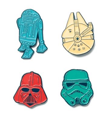 Pin Pack - 'Star Wars' - Star Wars Collection from Rags - Set of 4