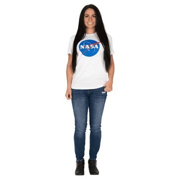 Unisex Adult Tee Shirt - 'NASA Meatball'