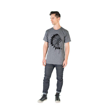 Unisex Adult Tee Shirt - 'The Native'