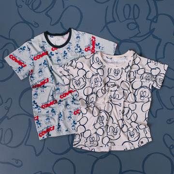 Adult Unisex Tee - 'Walt Disneys Comics' - Disney Collection from RAGS