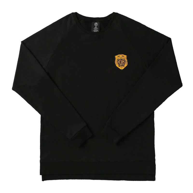 Unisex Adult Crewneck Sweatshirt - '$34 at Checkout' - 'Roar' - Black