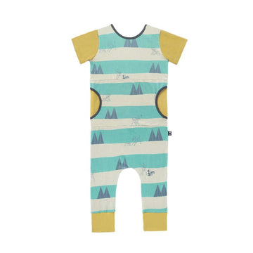 Peek Pocket Rag - 'Bambi Forest Stripe' - Disney Collection from RAGS