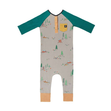 ¾ Length Henley Rag - 'Bambi Meadow' - Disney Collection from RAGS