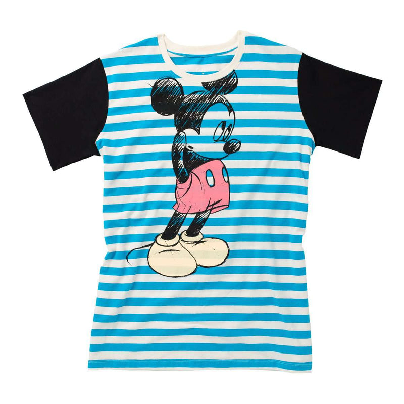 Unisex Adult Tee Shirt - 'Bashful Mickey Mouse' - Disney Collection from RAGS