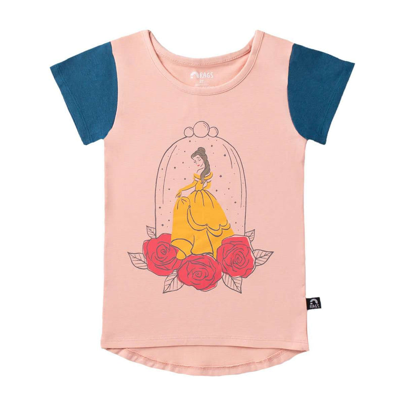Kids OG Style Tee - 'Belle' - Disney Collection from RAGS
