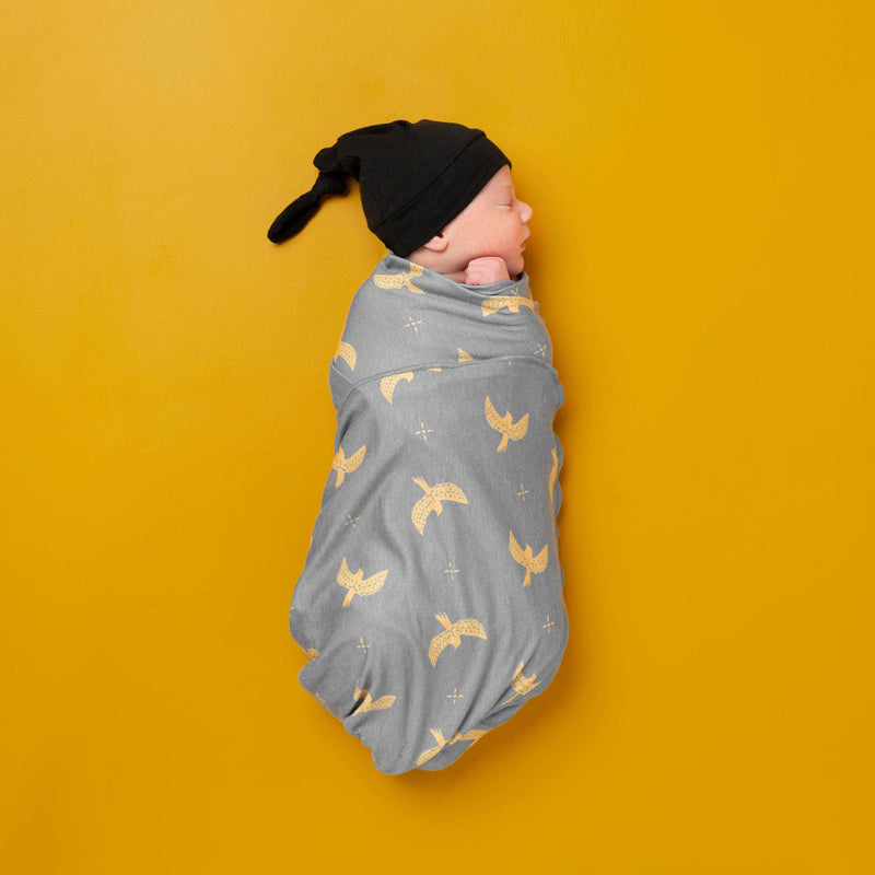Baby Swaddle - 'Free Birds' - Single Pack