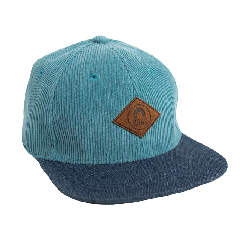 Kids Hat - 'Dusty Blue' - Denim Brim